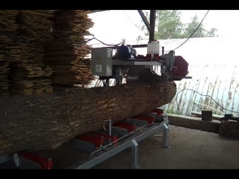 Автоматическая пилорама по дереву АЛМА-АТА 900