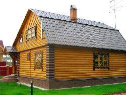 Блок-хаус в качестве отделки дома