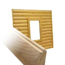 Выполнение отделки внешних и внутренних стен при помощи блок-хауса
