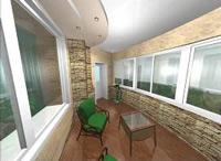 Занимаемся отделкой лоджий и балконов
